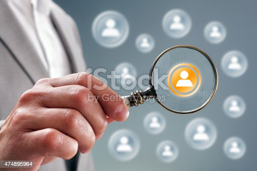 istock Search for team personnel or contacts 474895964