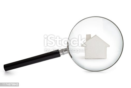 Residential Building, Magnifying Glass, Glass - Material, Searching, Discovery
