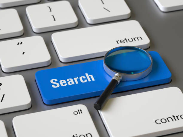 search key on the keyboard - searching stock pictures, royalty-free photos & images