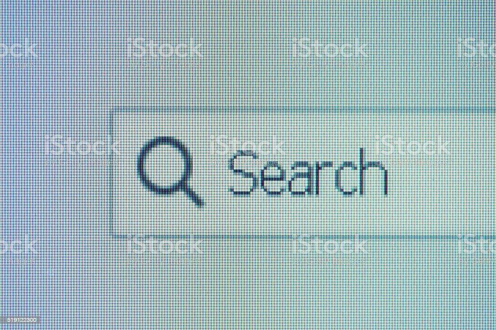 Search Text box stock photo