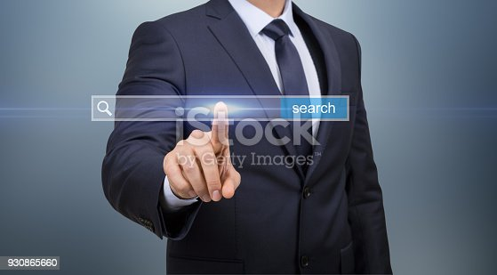 492960182 istock photo Search Touch Screen Network 930865660