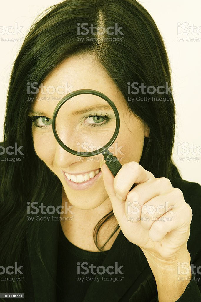 Searcher royalty-free stock photo