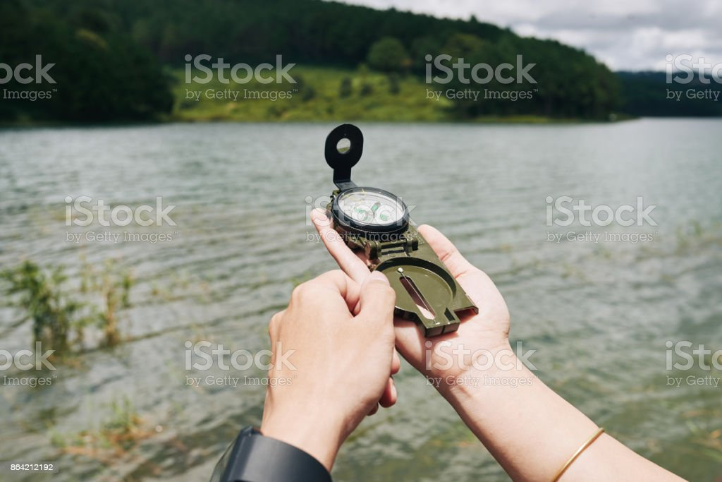 Searching direction royalty-free stock photo