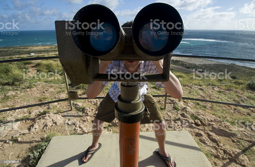 Searching Far and Wide royalty-free stock photo