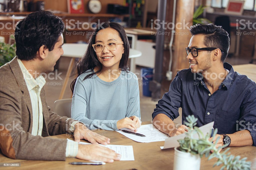 Searching for better mortgage rates stock photo