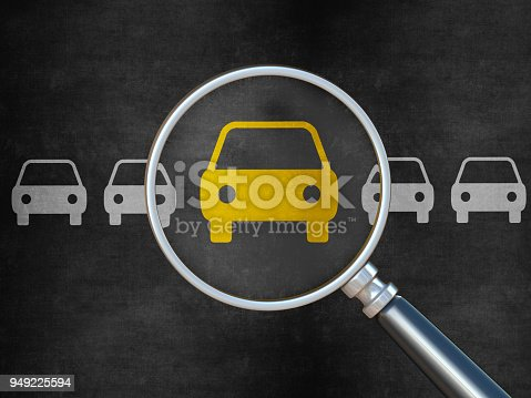 istock Searching for Cars 949225594