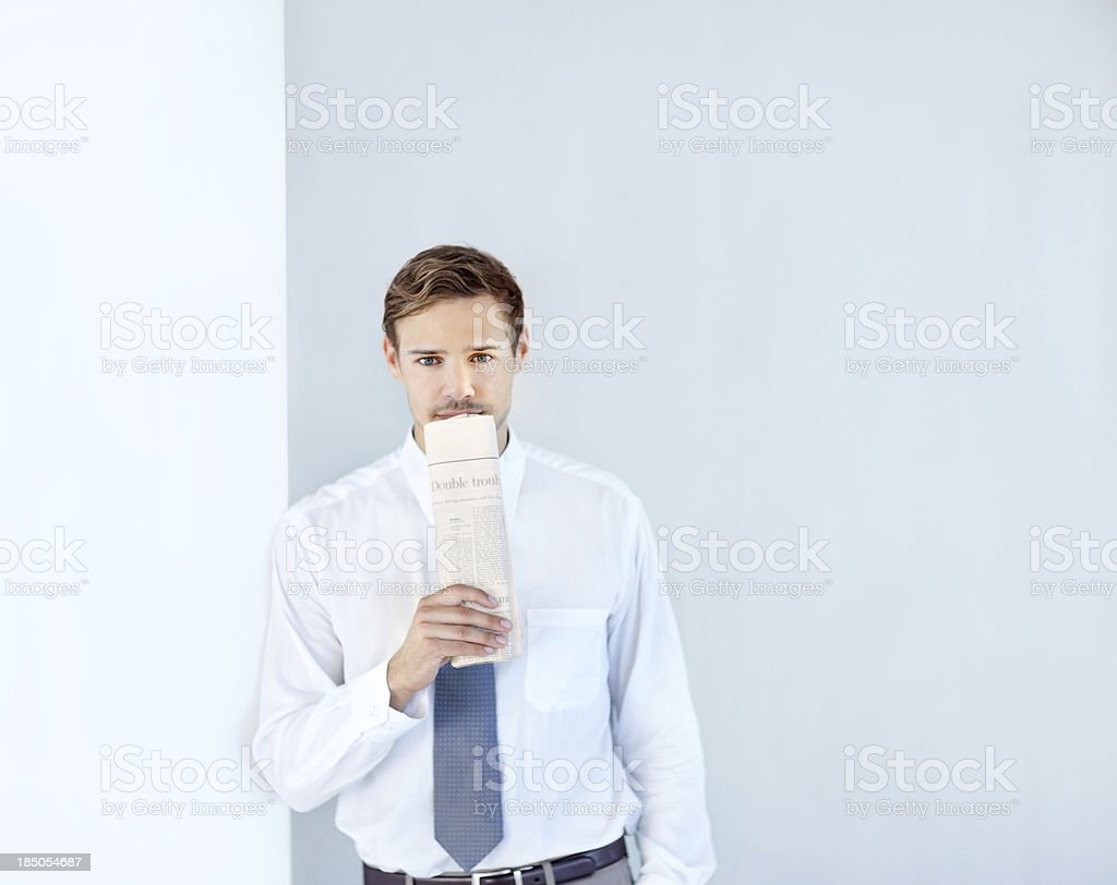Searching for my dream job royalty-free stock photo