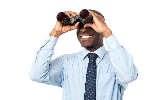 Searching for new career. stock photo