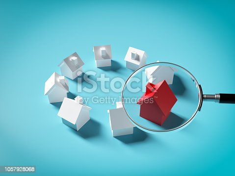istock Searching For Real Estate, House or New Home 1057928068