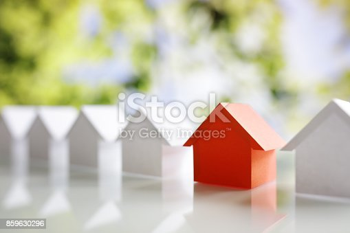istock Searching for real estate property, house or new home 859630296