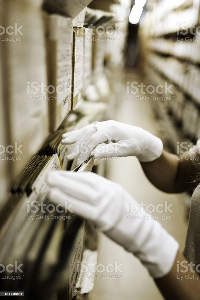 Searching hands royalty-free stock photo