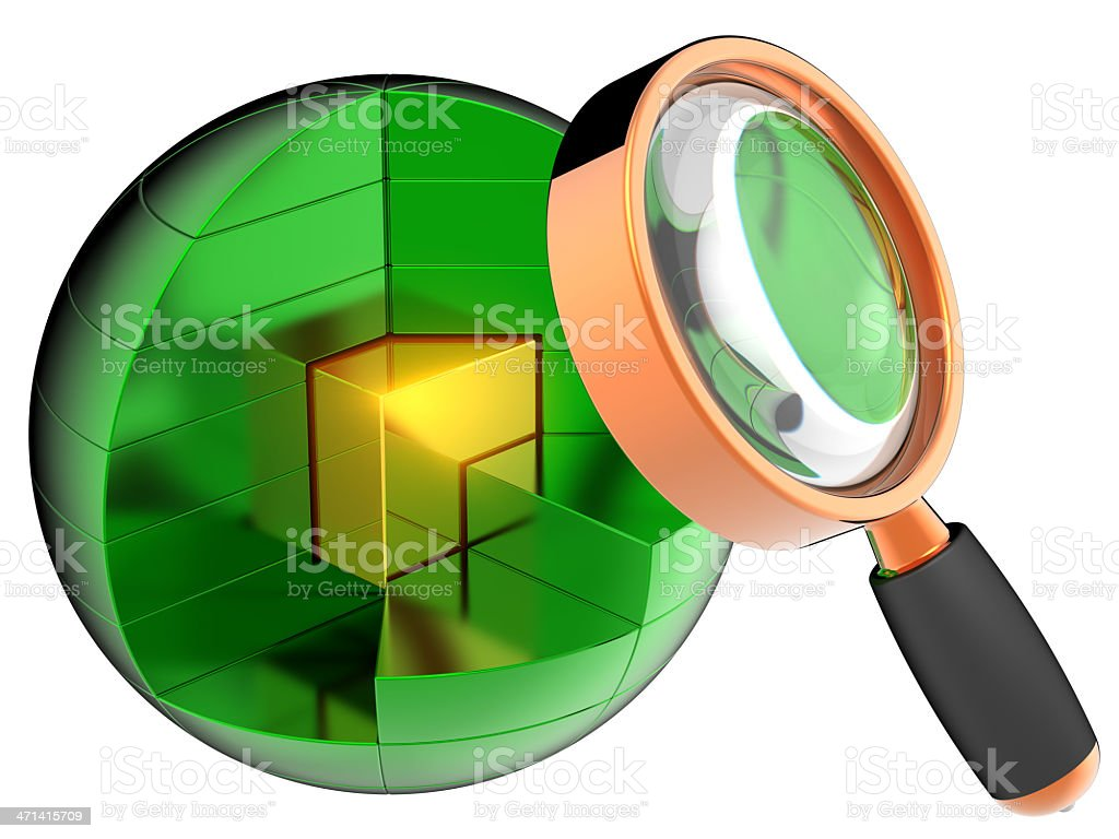 Searching information data discovery concept royalty-free stock photo
