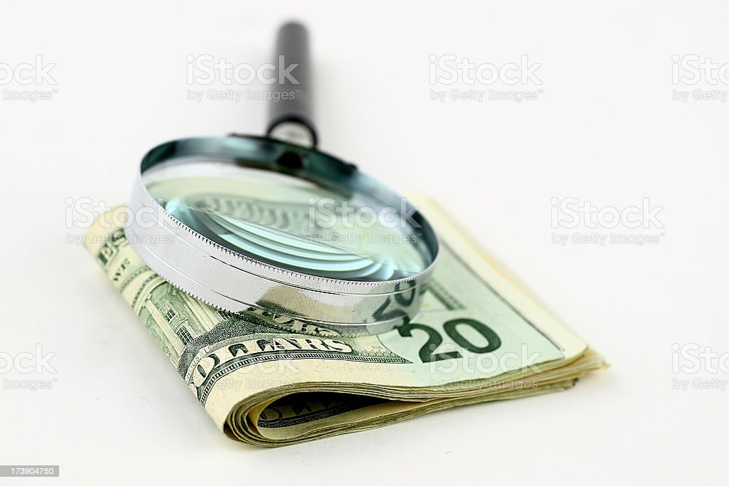 Searching money royalty-free stock photo