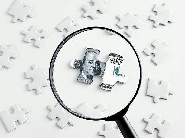 Suche Geld. – Foto