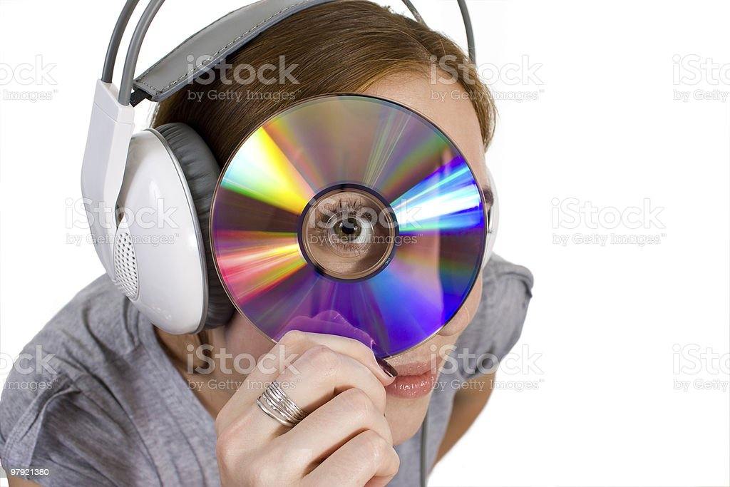 Searching music royalty-free stock photo