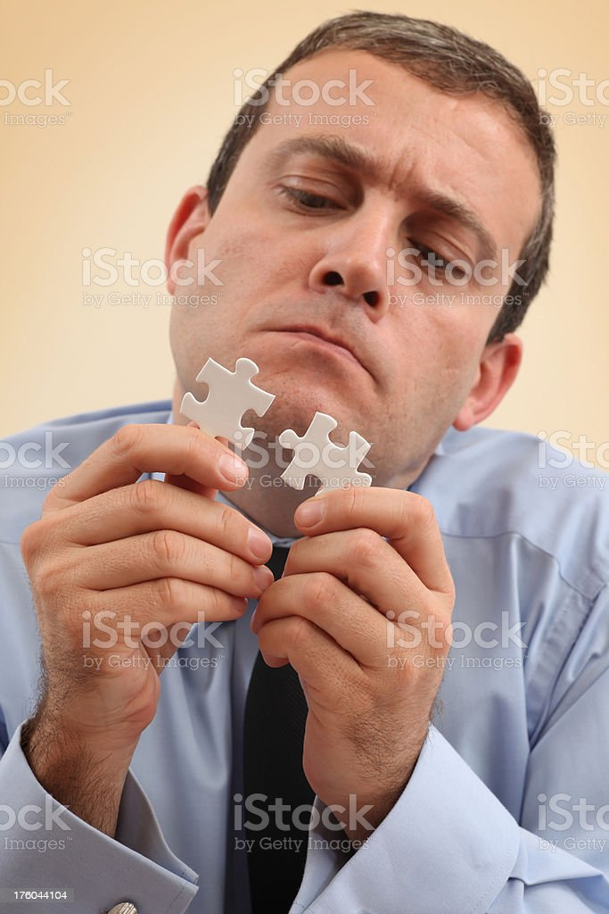 Searching Solution royalty-free stock photo