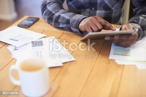 istock Searching the internet for a better deal 922149200