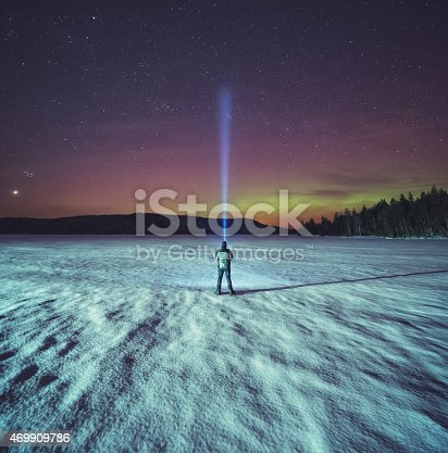 istock Searching the Northern Skies 469909786