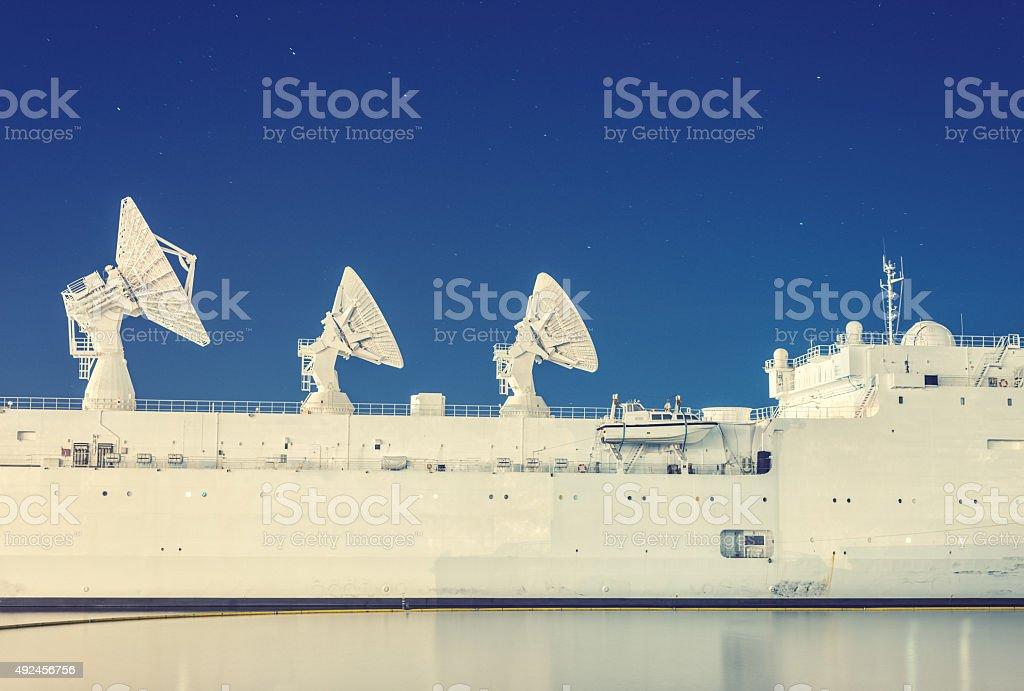 Searching Ursa Major stock photo