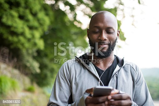 598157464 istock photo Searchng right tunes for training 543361320