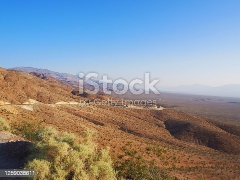 Searles Valley, at the doors of Death Valley, California