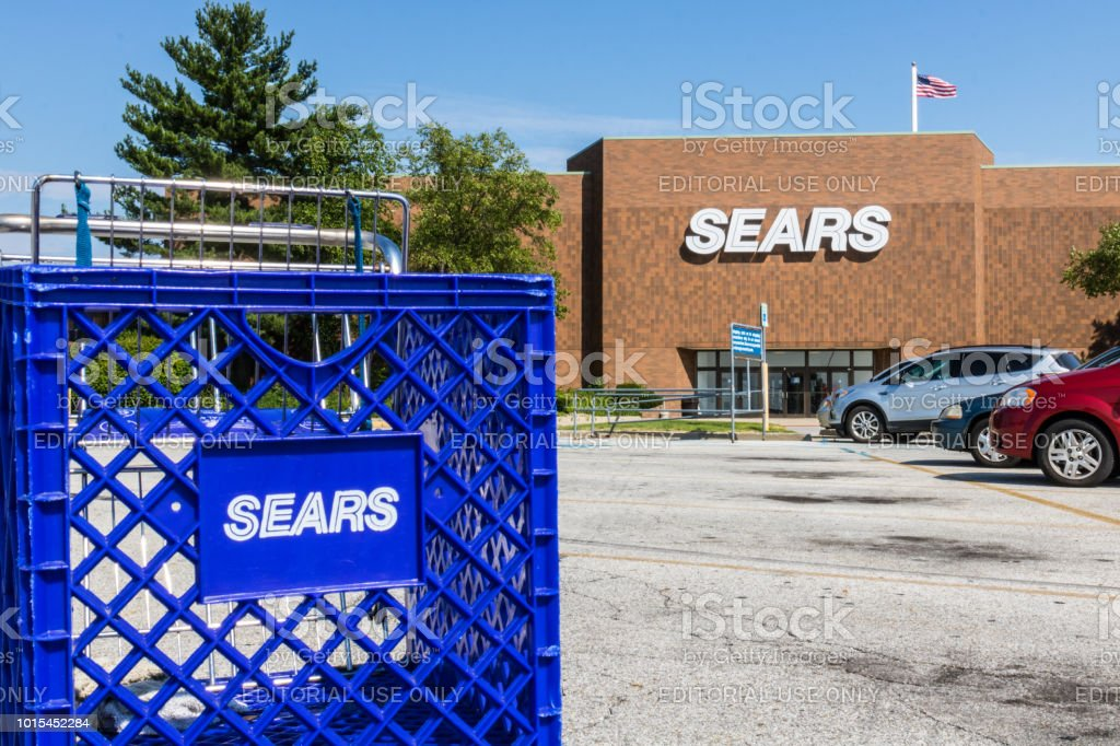 Sears Retail Mall Location. Sears is a Subsidiary of Sears Holdings V stock photo