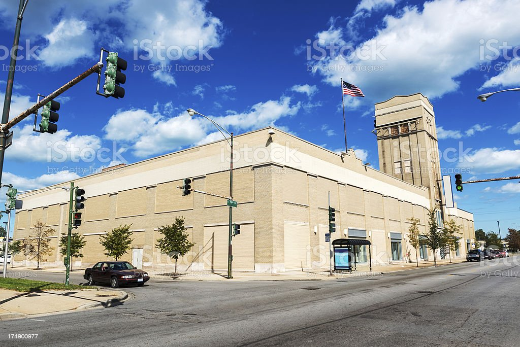 Sears Store in Avalon Park Chicago royalty-free stock photo