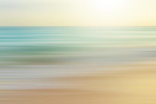 seascape background blurred motion,defocused sea.