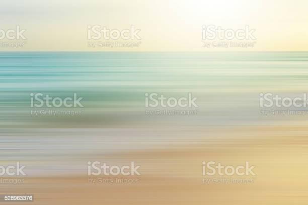 Photo of seascape background blurred motion,defocused sea.
