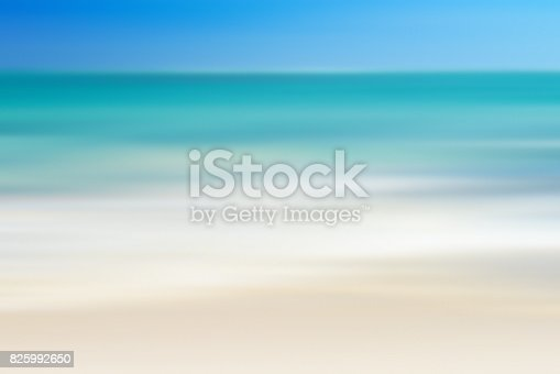 istock Seascape background blurred motion,defocused sea. 825992650