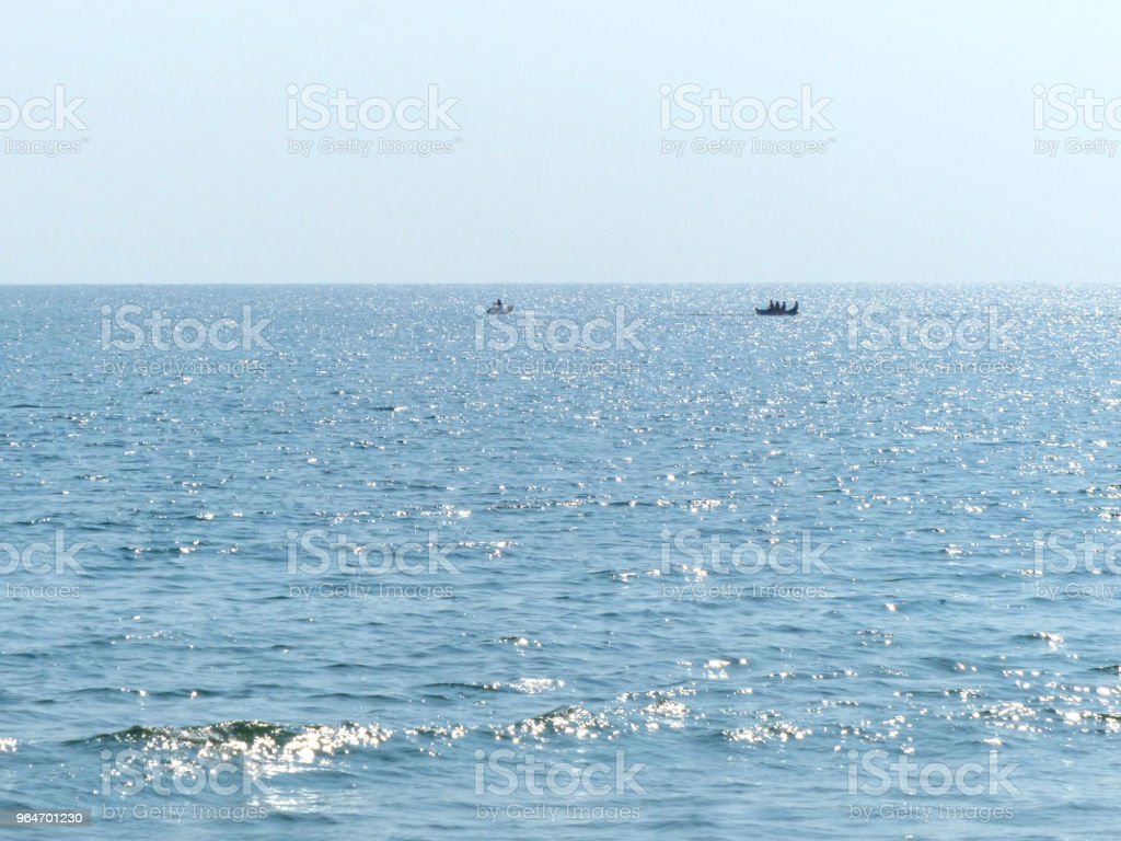 seascape in sunny day royalty-free stock photo