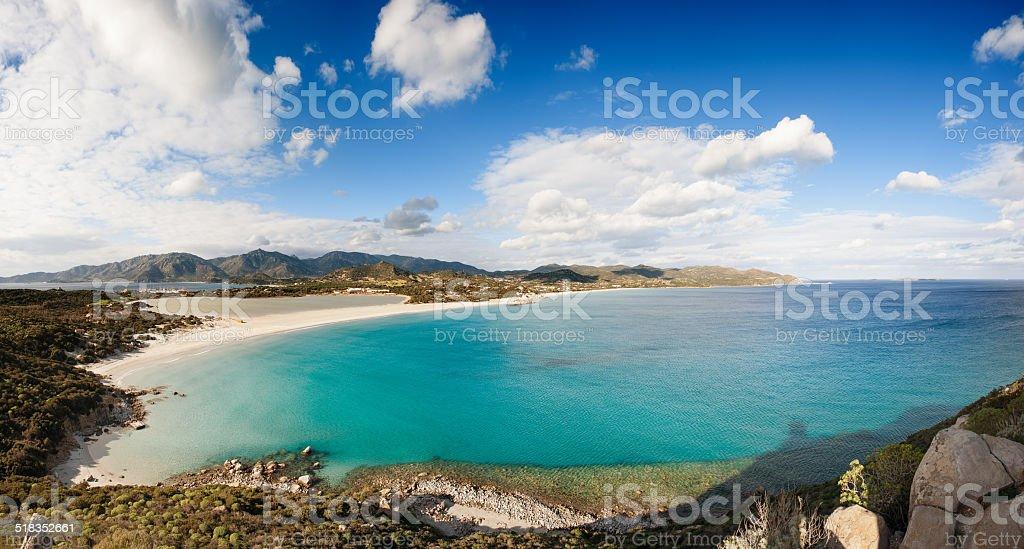 Seascape Panorama - foto de acervo