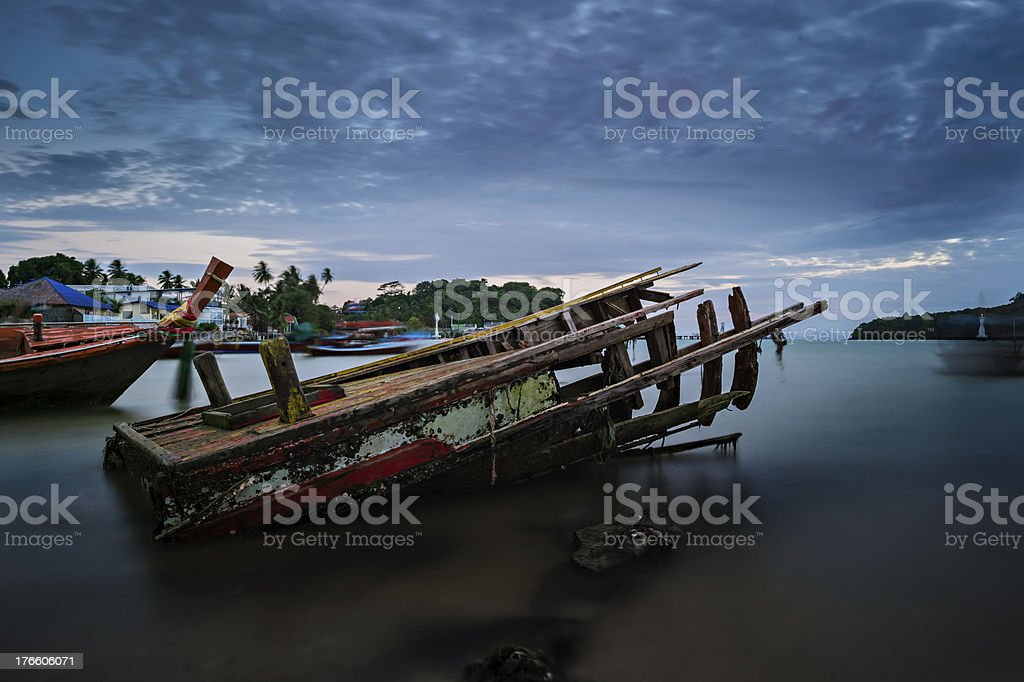 Seascape, Phuket, Thailand royalty-free stock photo