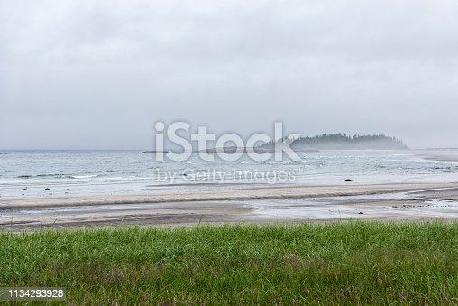 Paysage de Baie-Trinité, Canada