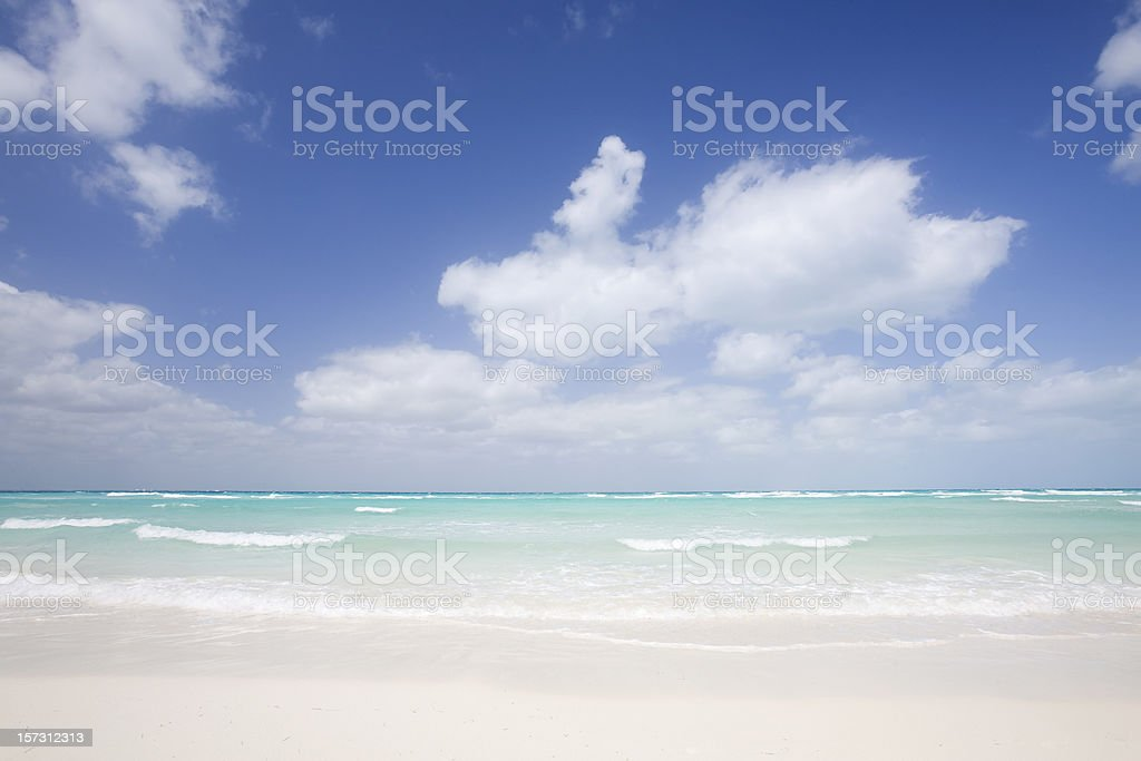 Seascape (clean) royalty-free stock photo