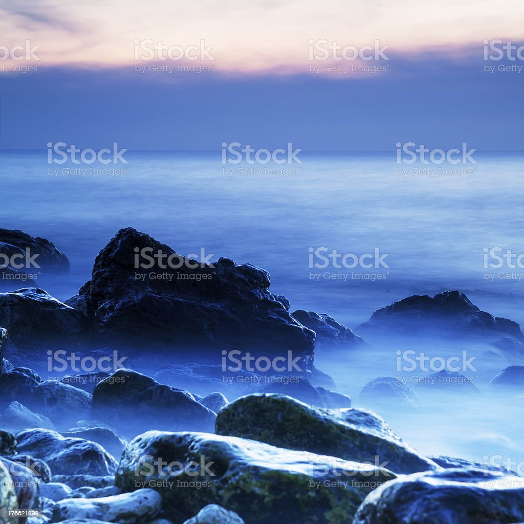 Seascape royalty-free stock photo
