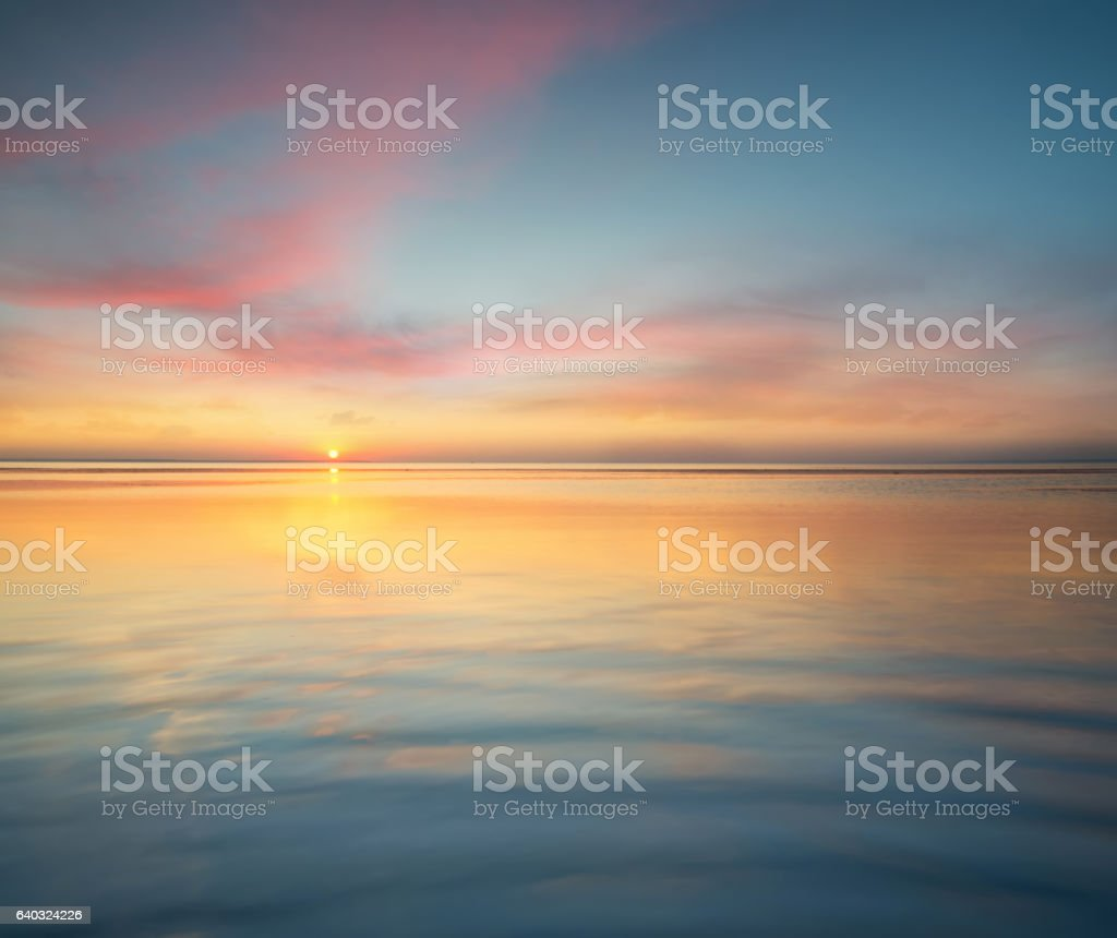 Seascape stock photo