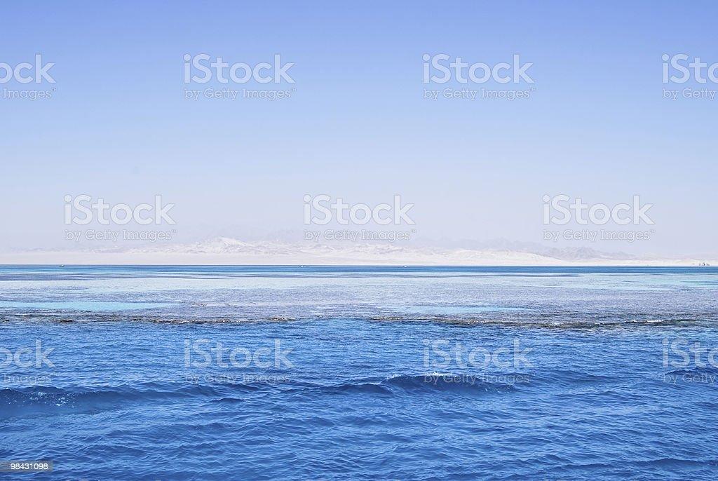 바다 경치를 royalty-free 스톡 사진