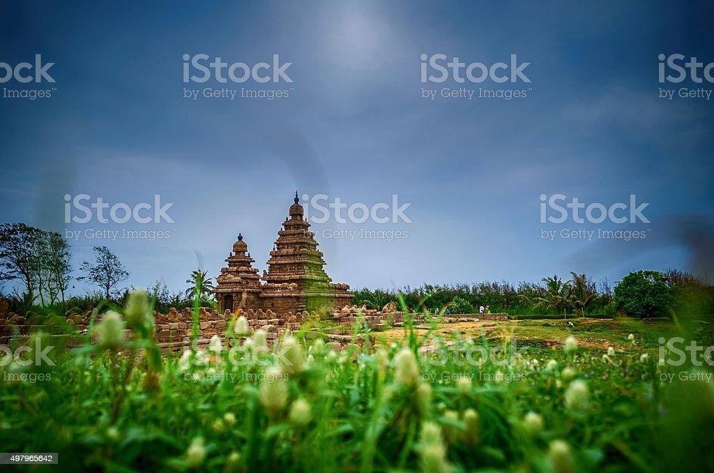 Seashore Temple, Mahabalipuram stock photo