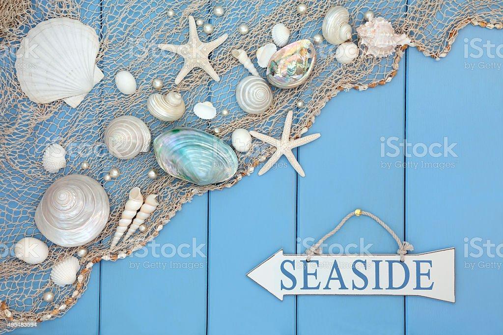 Seaside Abstract stock photo