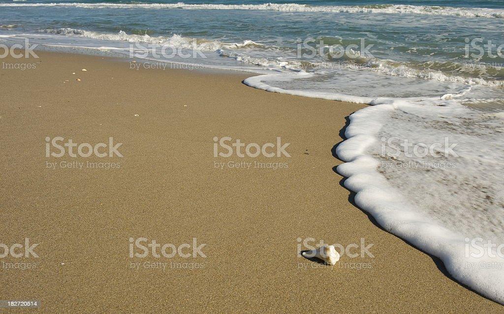 Seaside Beach stock photo