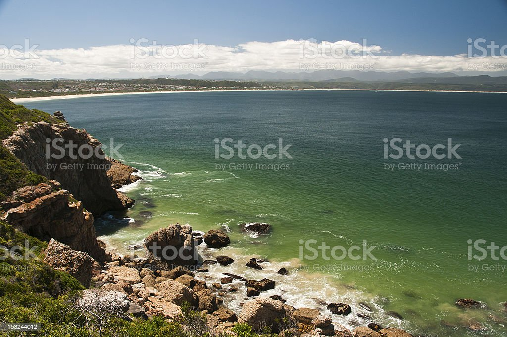 Seaside beauty stock photo