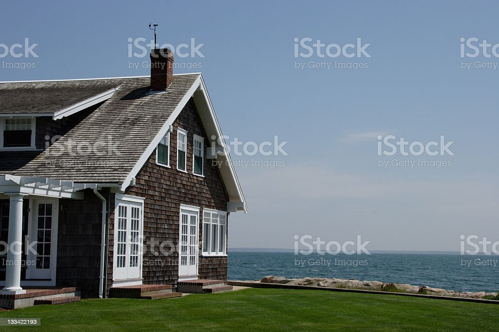 Seaside Cape stock photo