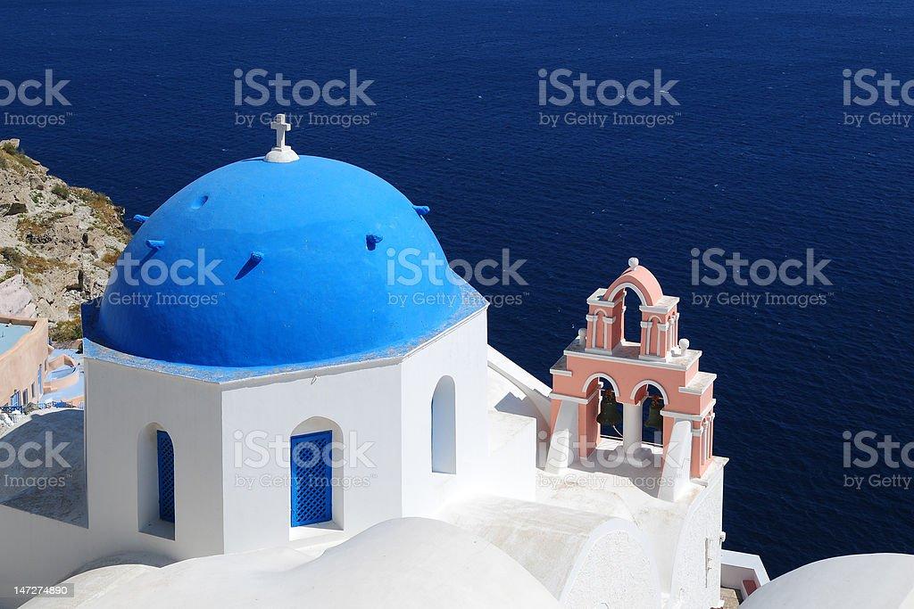 Seaside Church royalty-free stock photo