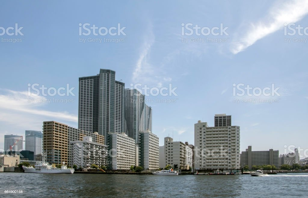 seaside city panorama foto stock royalty-free