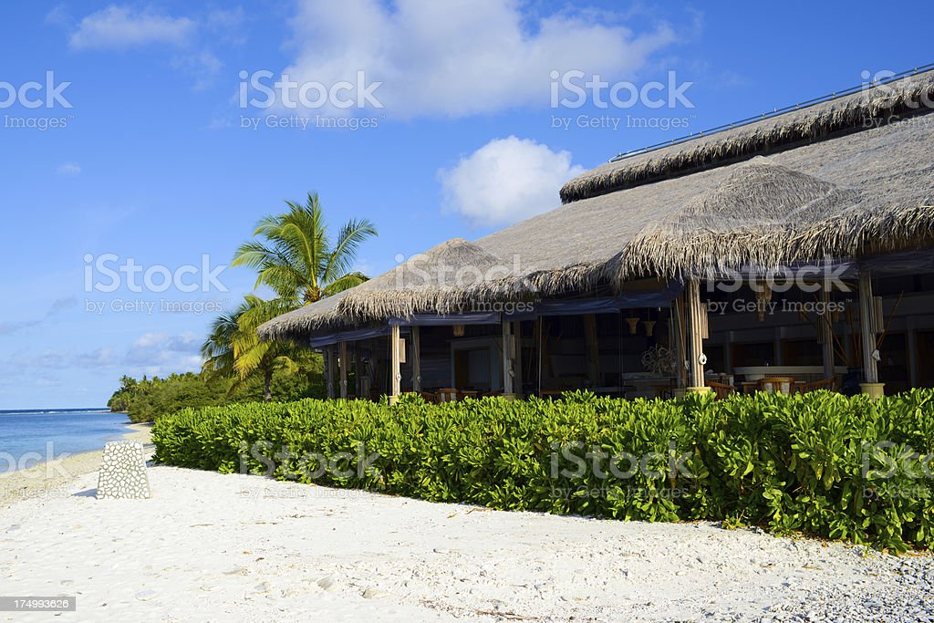 Seaside House royalty-free stock photo
