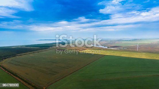 Seaside Landscape In Crimea Stock Photo & More Pictures of Aerial View