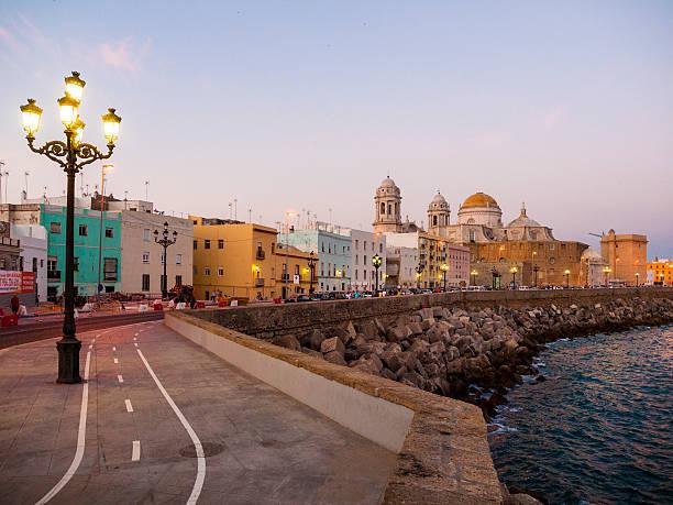 Junto al mar alrededores de cádiz, España - foto de stock