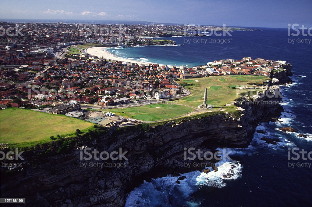 Seaside of Sydney ,Australia royalty-free stock photo