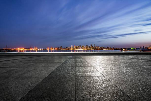 Parkplätze am Meer – Foto